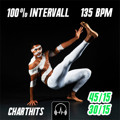 100% Intervall - Charthits #1 (45|15 + 30|15) - 135 BPM
